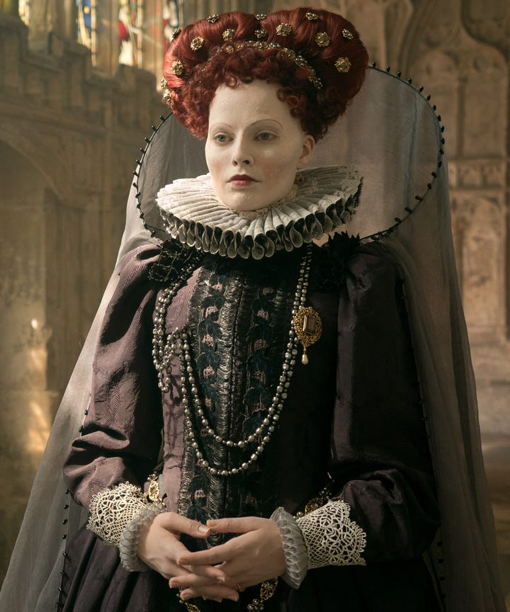 how mary queen of scots queen elizabeth i are related