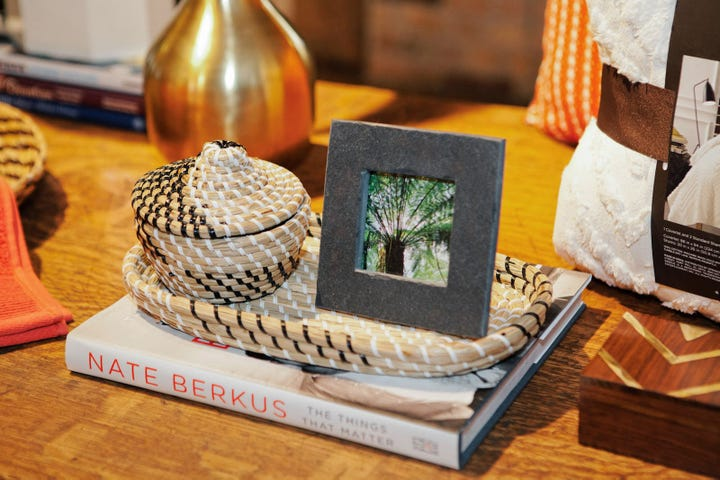 A Nate Berkus Desk Tip: Picture Frames! All Of These Items Are From The Nate  Berkus Collection Found At Target.
