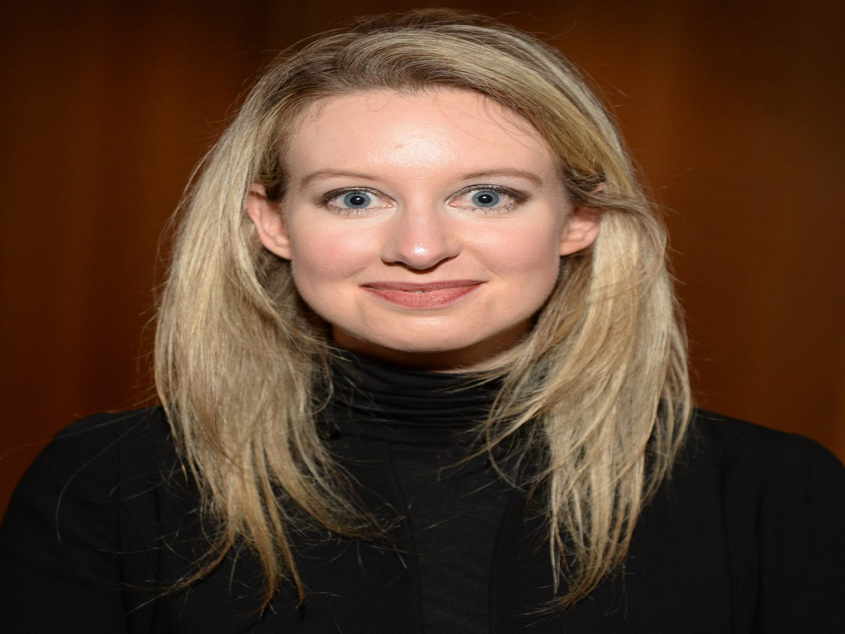 An Ex-Theranos Employee Is Responsible For Elizabeth Holmes  Black Turtleneck