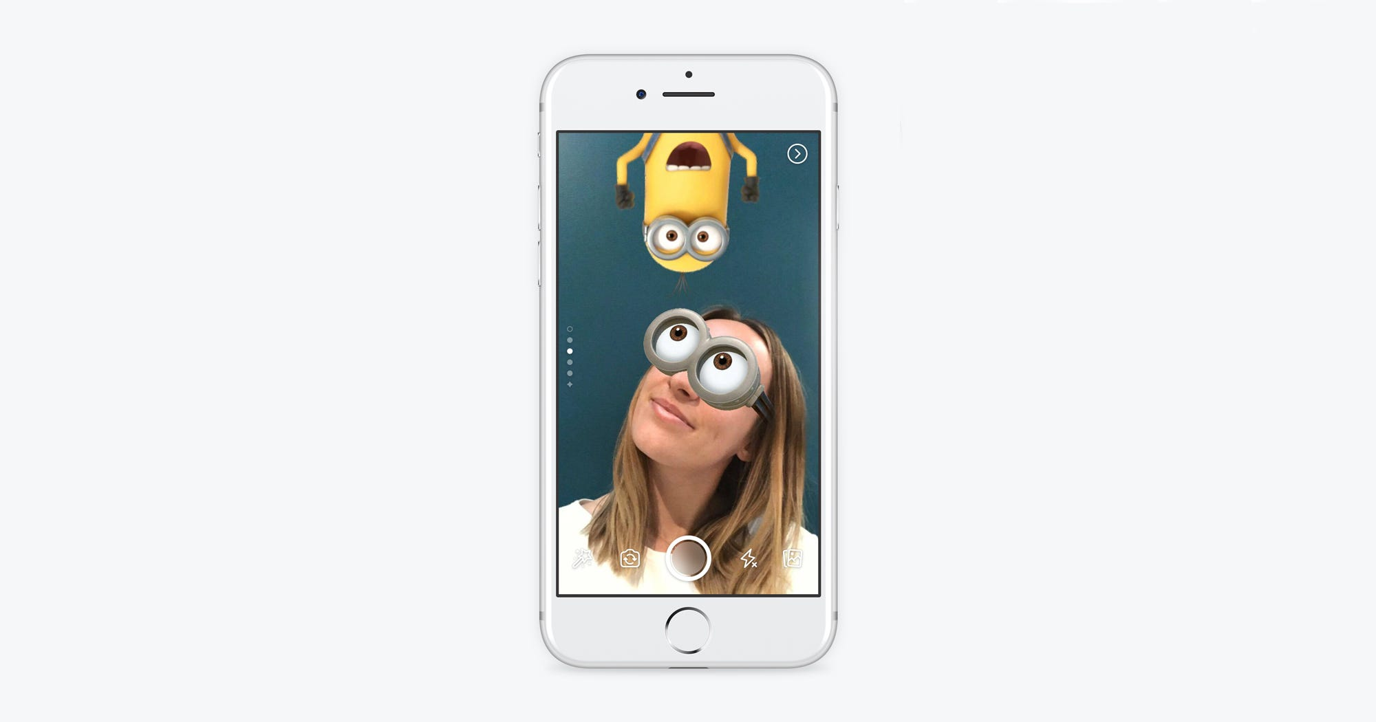 Minion Camera Case : How to use facebook camera stories masks effects