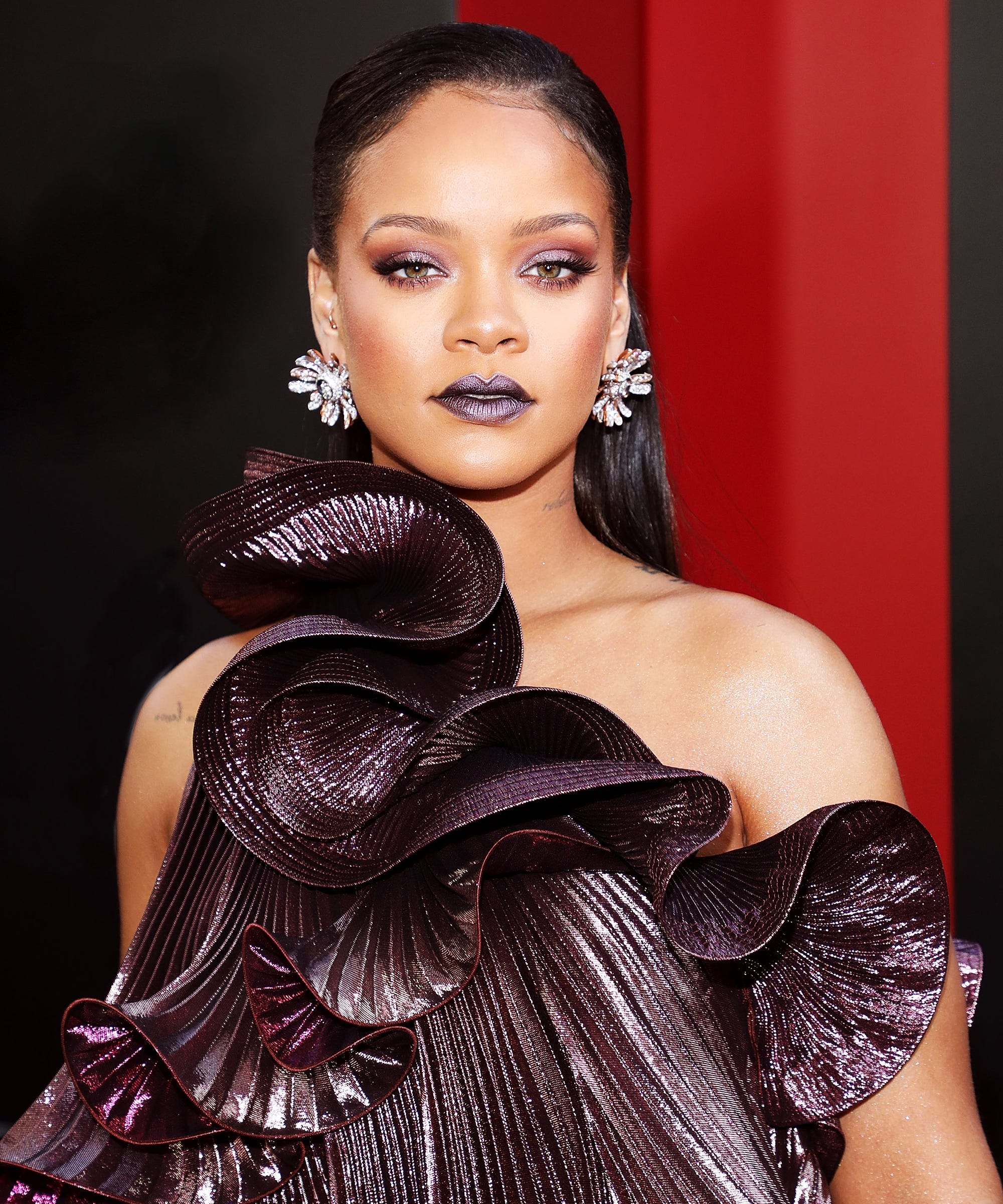 Rihannas Best Long And Short Hairstyles Over The Years