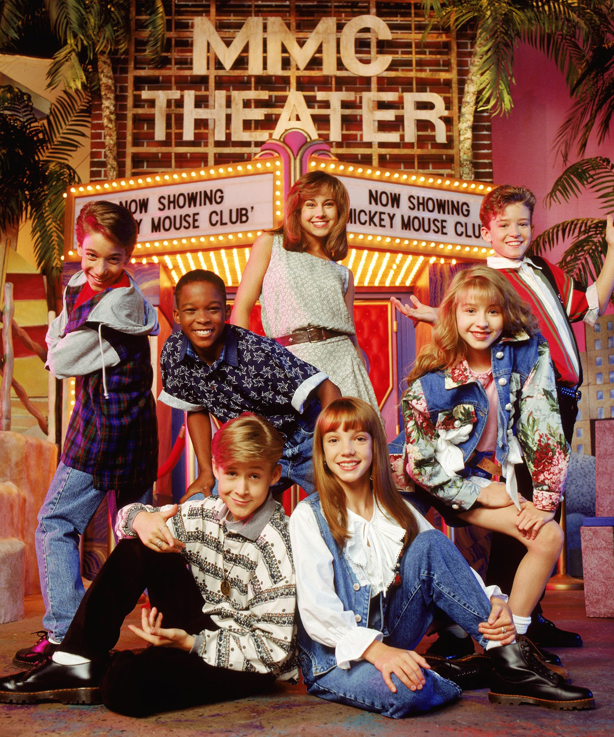The Cast Of The All New Mickey Mouse Club The