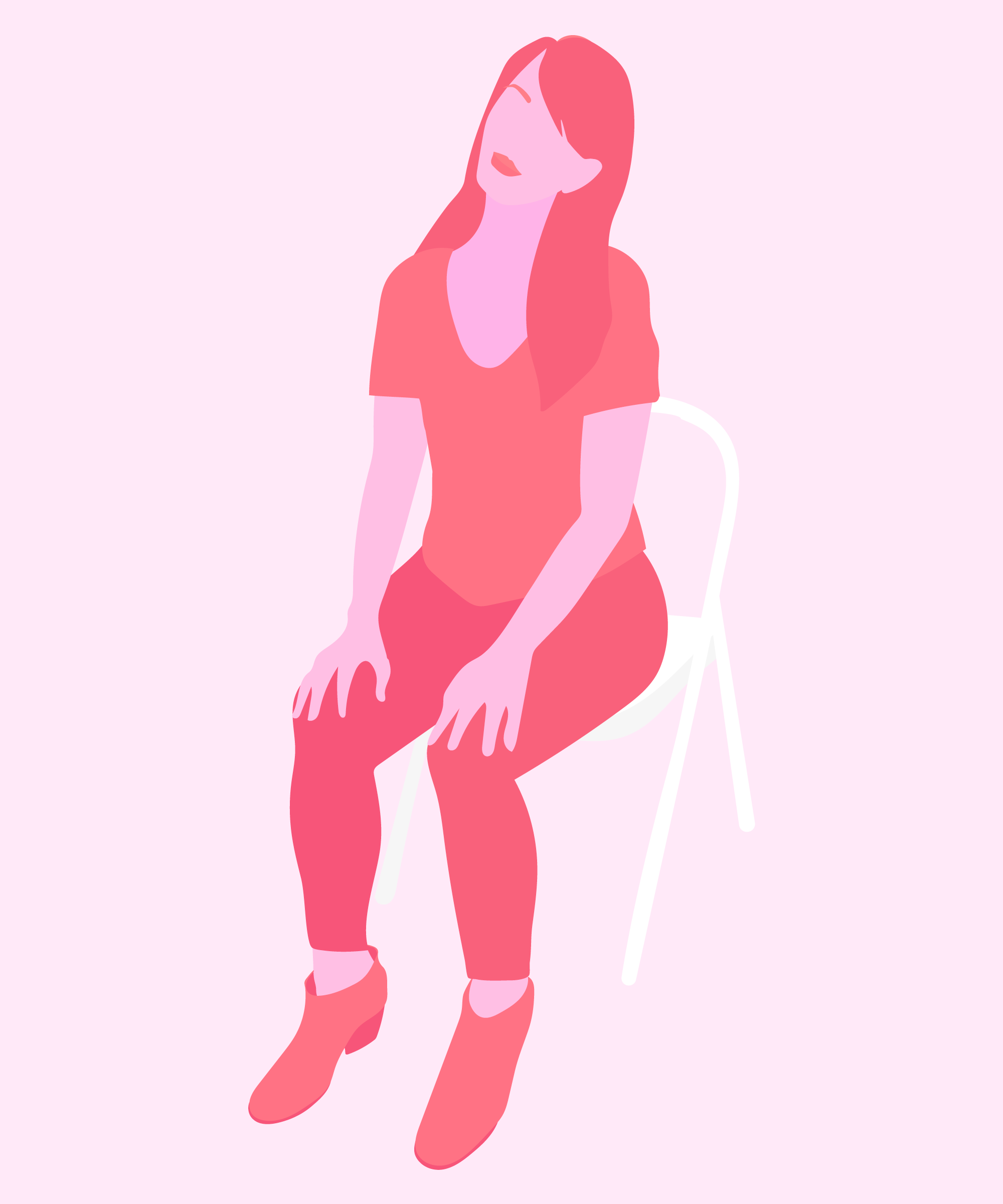 Desk Yoga Stretches - Back Stretching Posture Exercises