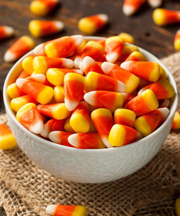 the history behind candy corn halloweens most divisive treat