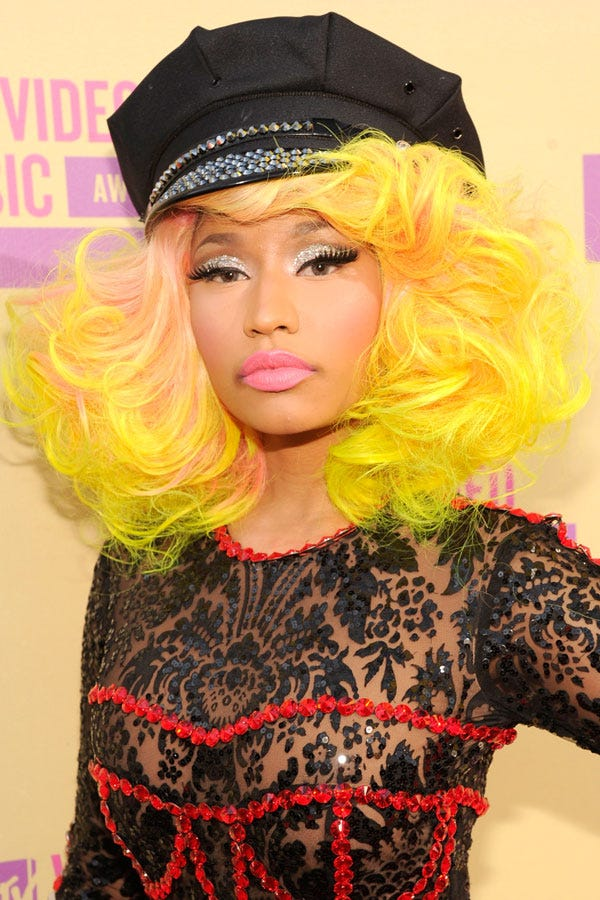 Nicki Minaj Makeup 2016