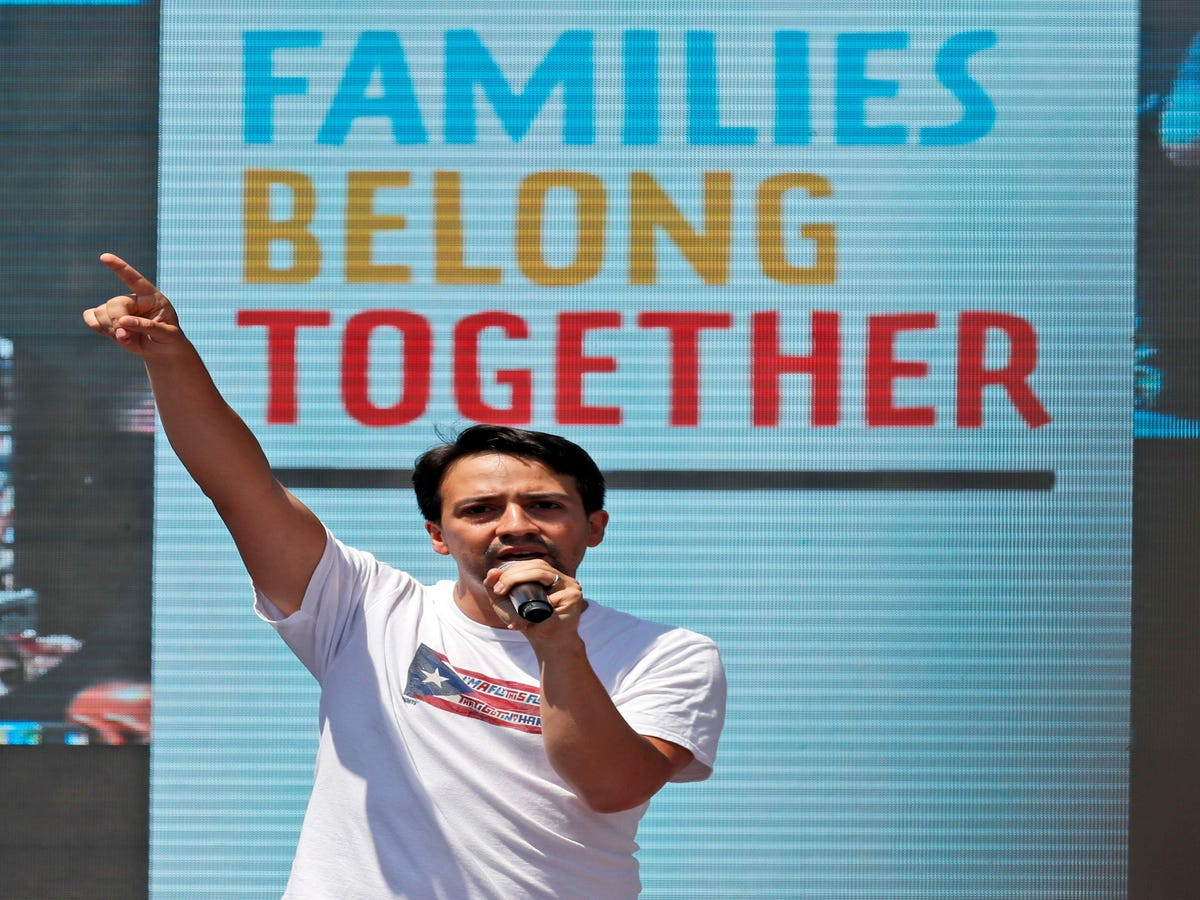 Chrissy Teigen, Kerry Washington & More Joined Families Belong Together To March