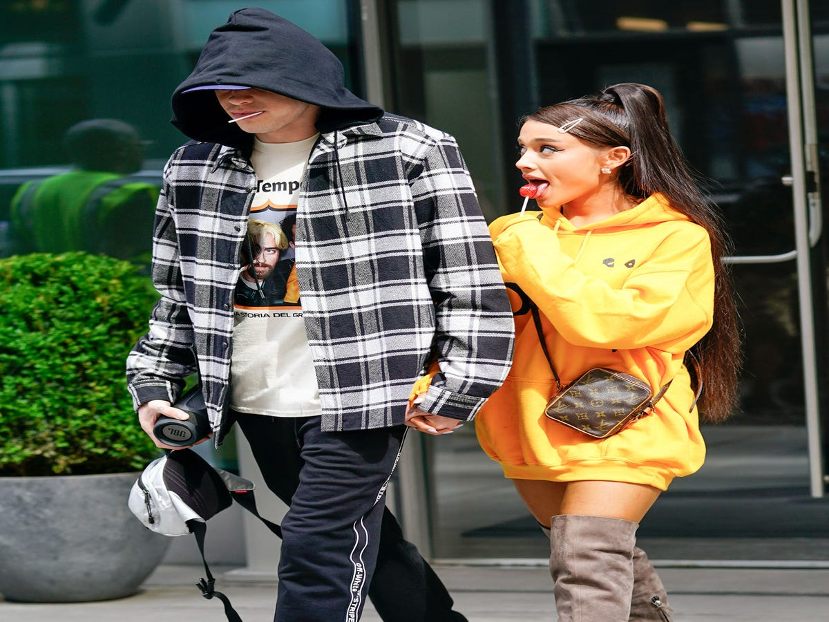A-Listed: Ariana Grande & Pete Davidson s Apartment Is Not Your Average Starter Home