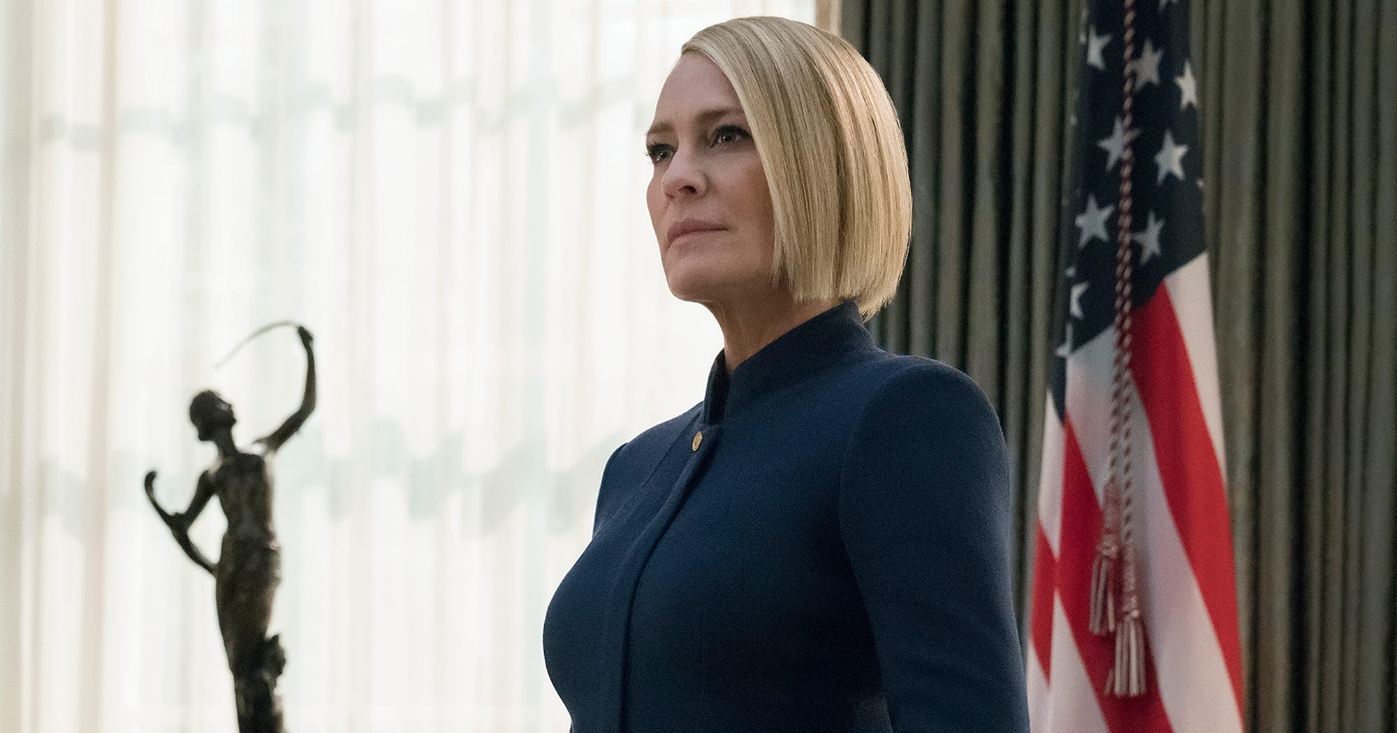 Inside Robin Wrights New House Of Cards Bob Haircut