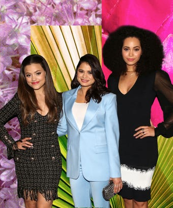 Sarah Jeffrey, Melonie Diaz, and Madeleine Mantock.