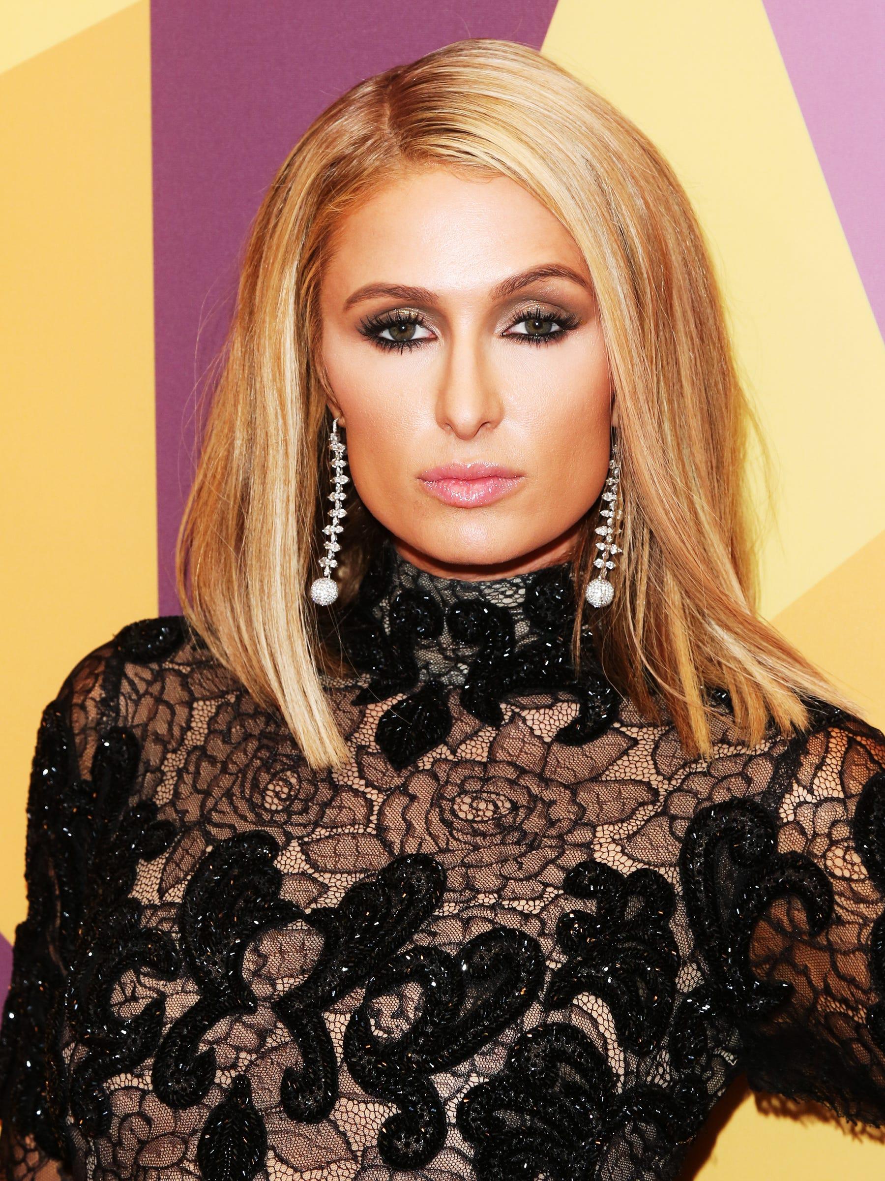Paris Hilton As Kim Kardashian Yeezy Season 6 Photos