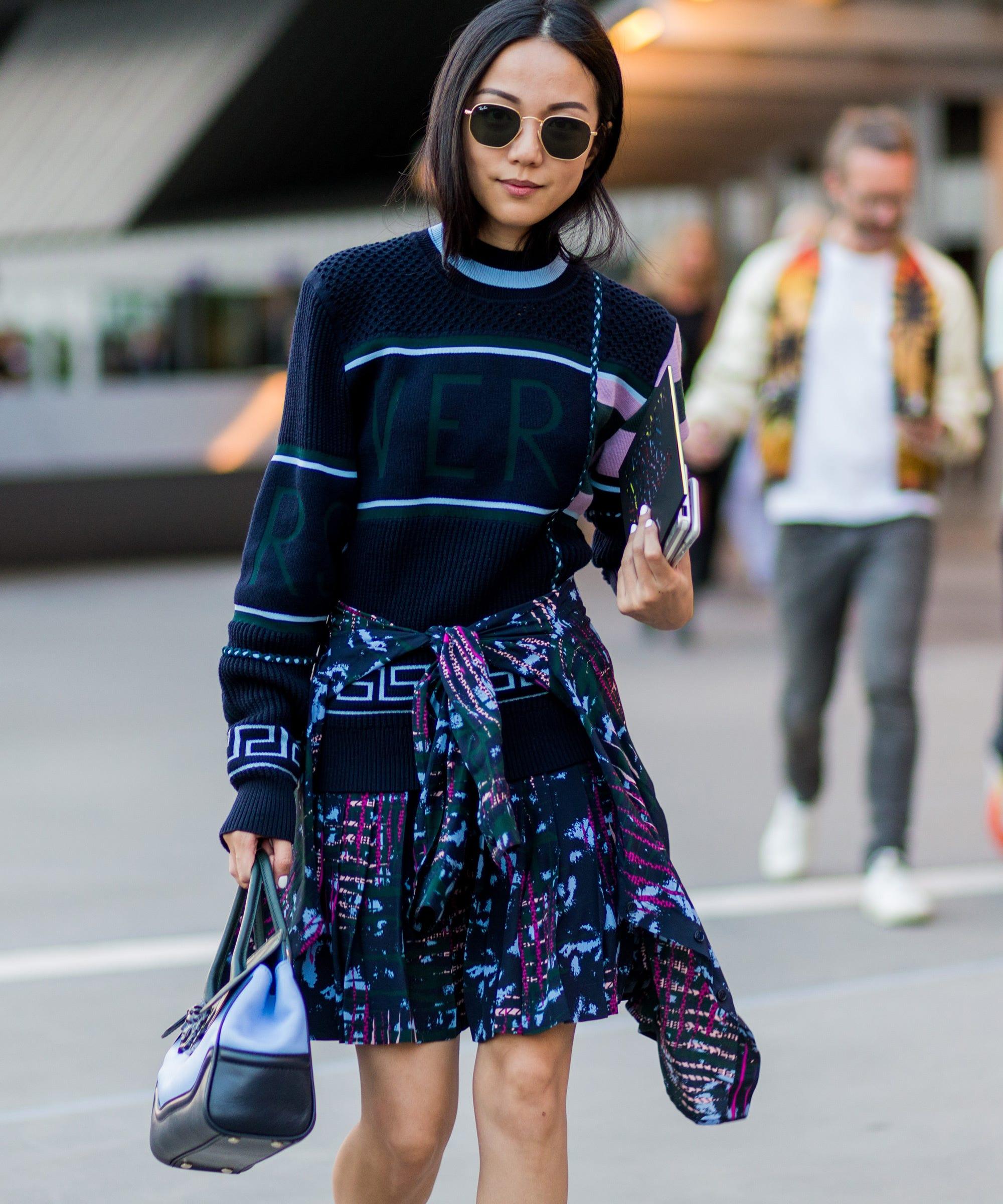 fb3c57eadbc8c Fall Outfit Inspiration - MFW Street Style Photos 2016