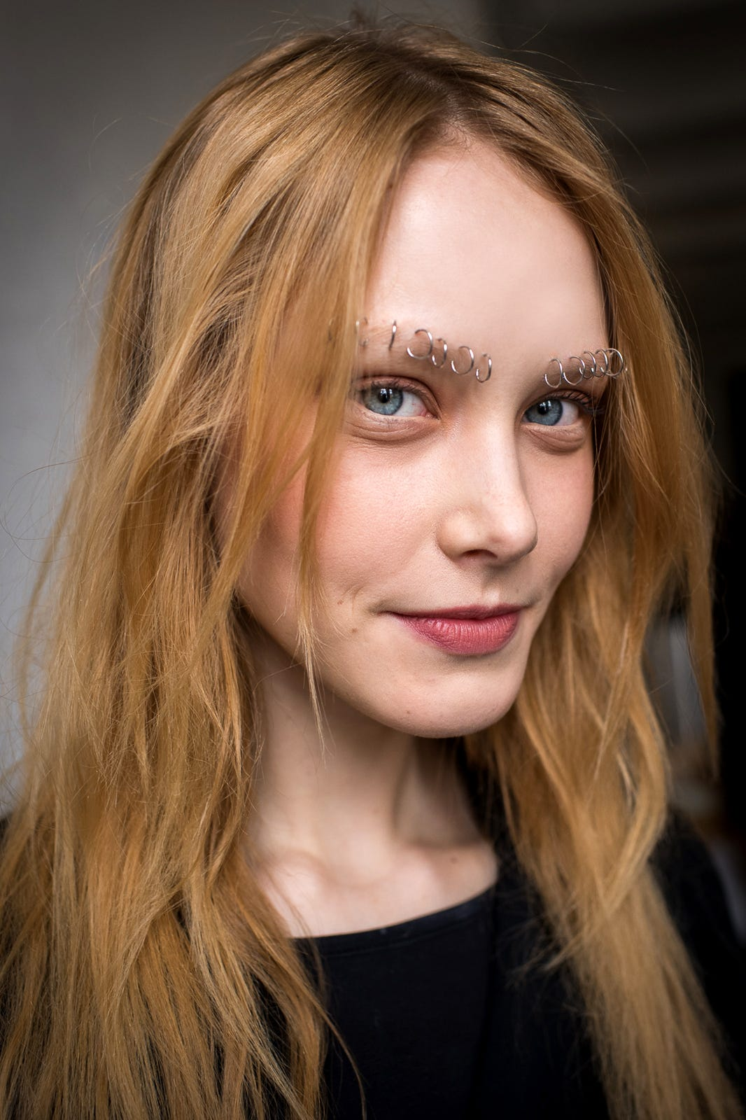 Rodarte Pierced Eyebrows Fashion Week Spring 2015