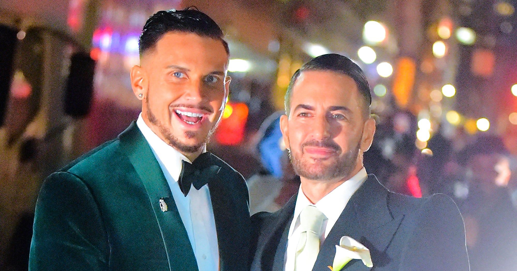 bc9156c622 Marc Jacobs Married Char Defrancesco, Celeb Guests