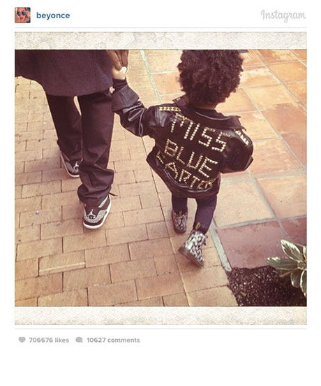 12 One-Of-A-Kind Leather Jackets, Inspired By Blue Ivy Carter