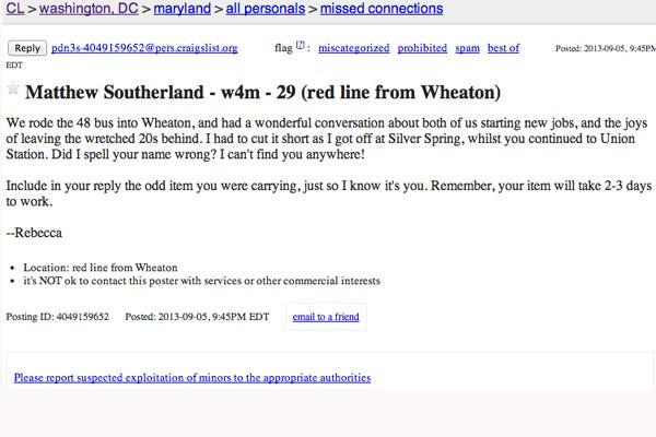 W4m Craigslist Sexting Buddy