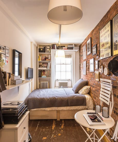 Small Space Apartment Living Advice Square Feet - 100 square feet bedroom design