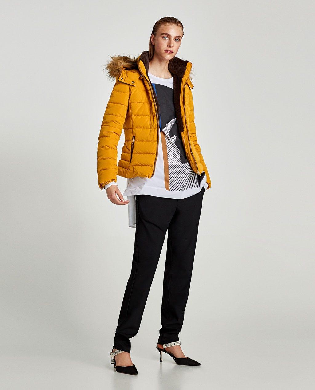 999ec16cc40e Zara Winter 2017 Best New Puffer Jacket Coats Shop Now