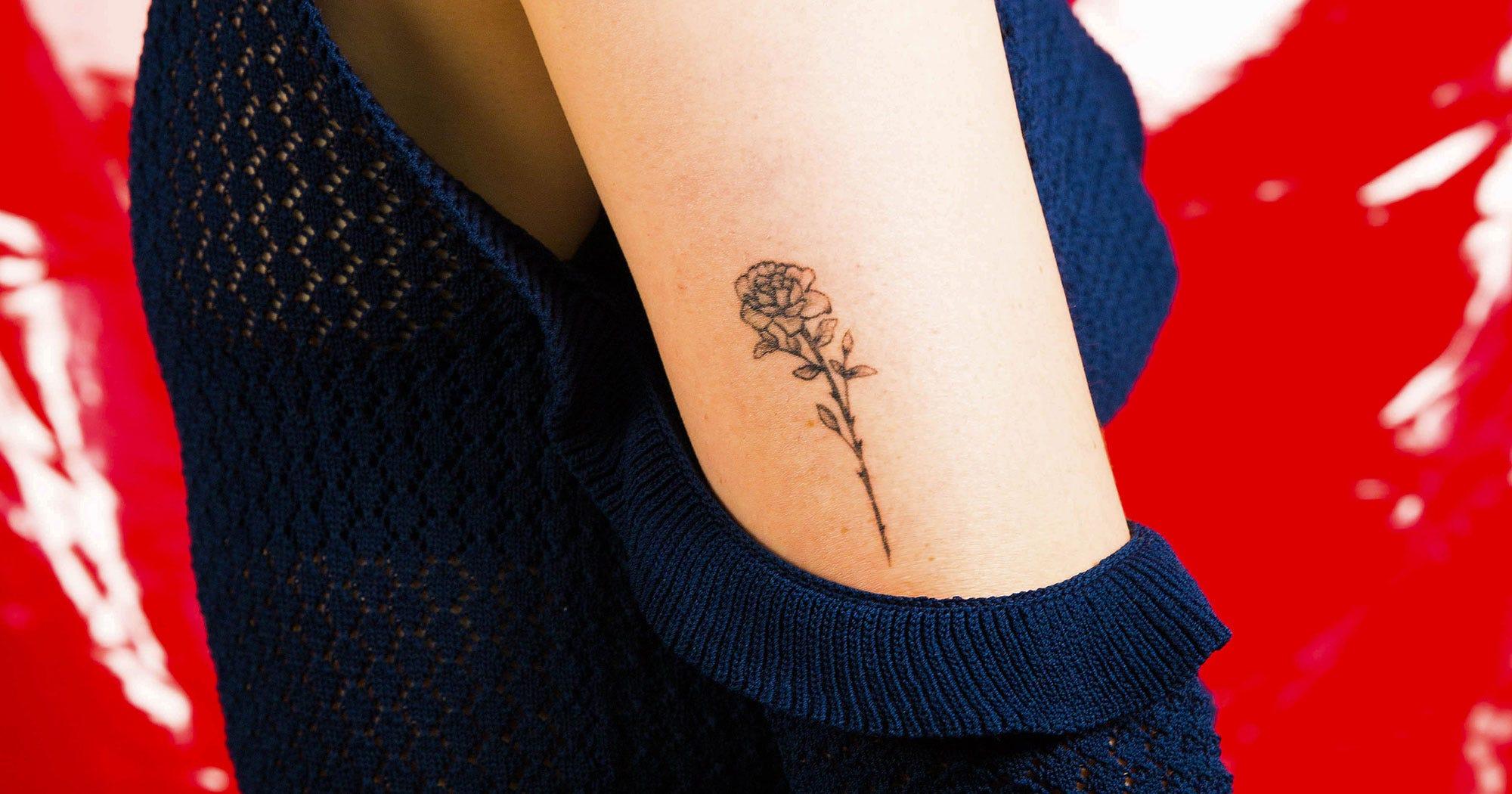 0b16c929c Pretty Flower Tattoos: Ideas & Designs For Inspiration