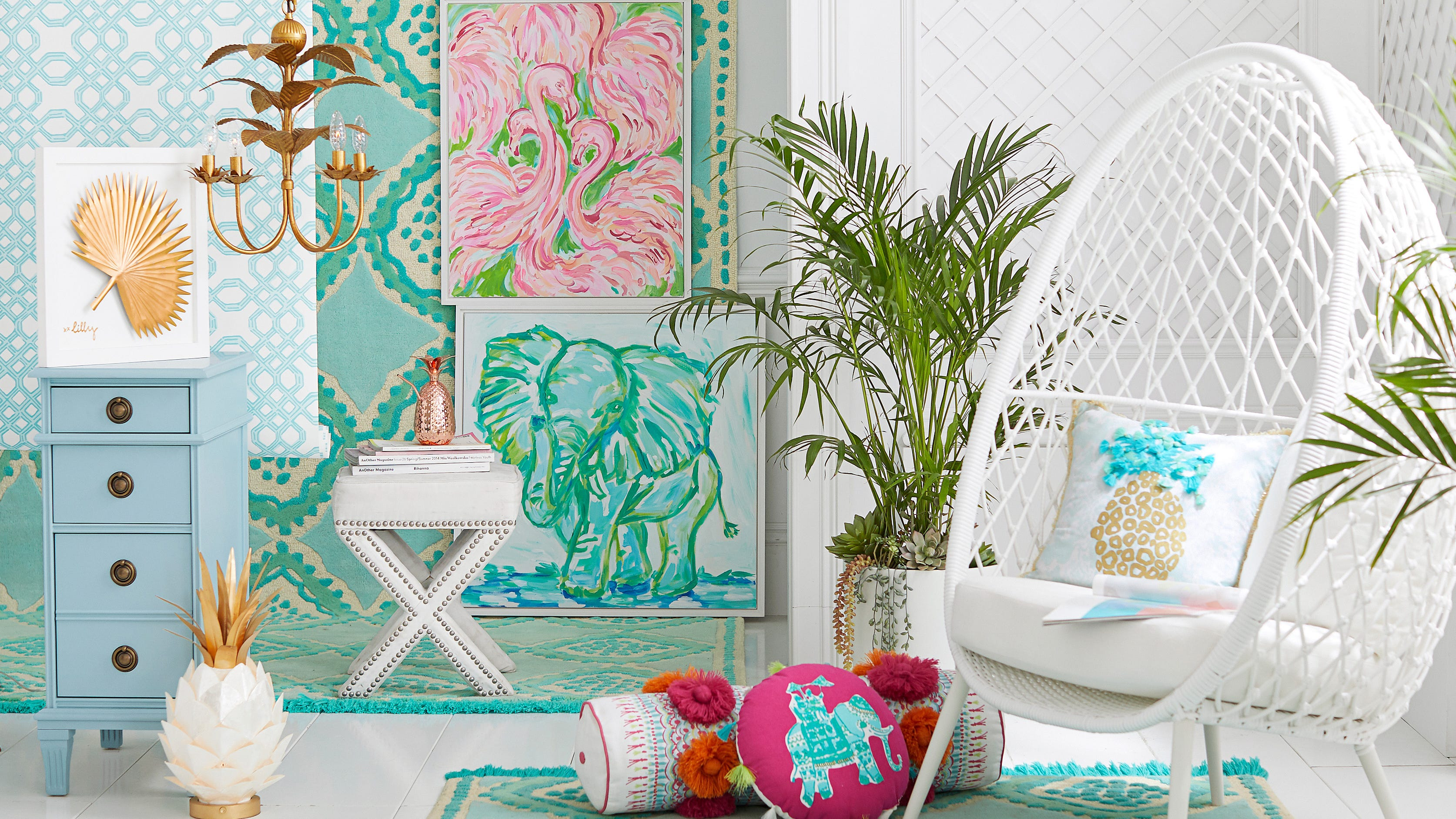 Pottery Barn And Lilly Pulitzer Collaboration
