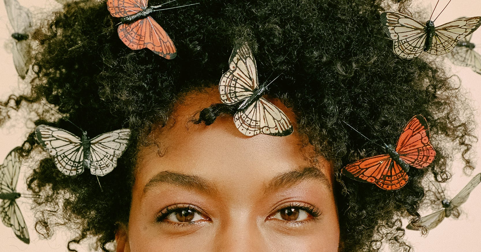 a4f72551282c4 How To Wear Butterflies In Straight And Curly Hair