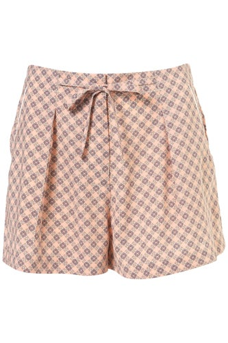 Rational Sunset Highway Plaid Shorts Aromatic Flavor Shorts Men's Clothing