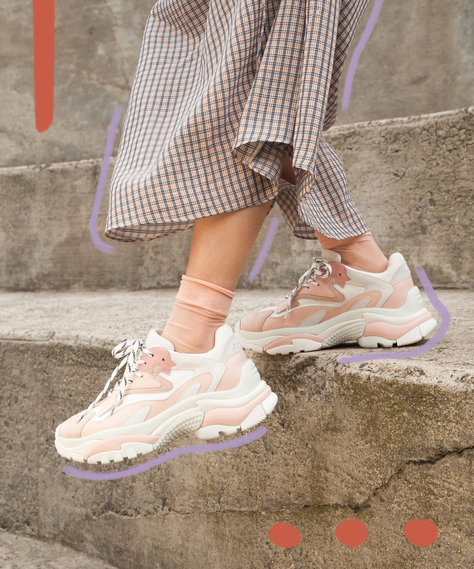 How To Wear Athletic Ugly Spring Chunky Sneakers Trend CWdexroB