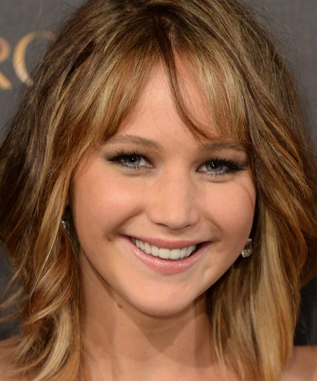 Jennifer Lawrence Pixie Haircut Short Hair Pics 2013