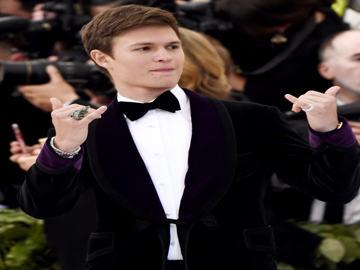 Ansel Elgort s Favorite Scents Are Secrets & Baked Chicken