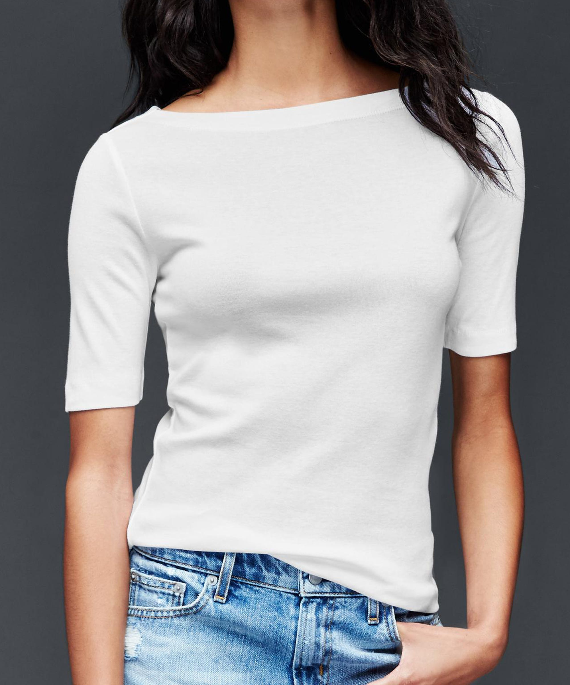 89a3564e157 Tested & Approved: The Best White Tees That Aren't See-Through At All