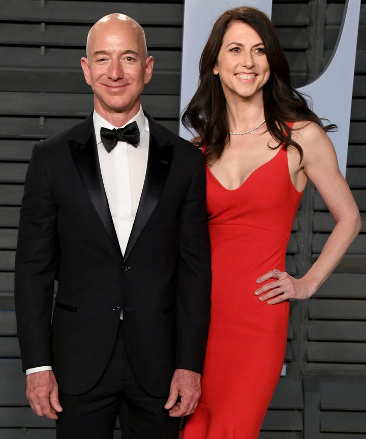 How Divorce May Affect Jeff Bezos Net Worth Amazon