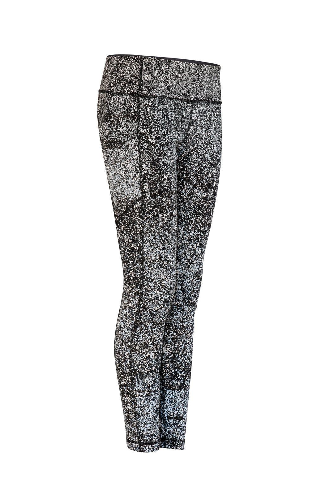b44bafcad Lululemon Reflective Splatter Leggings Workout Clothes