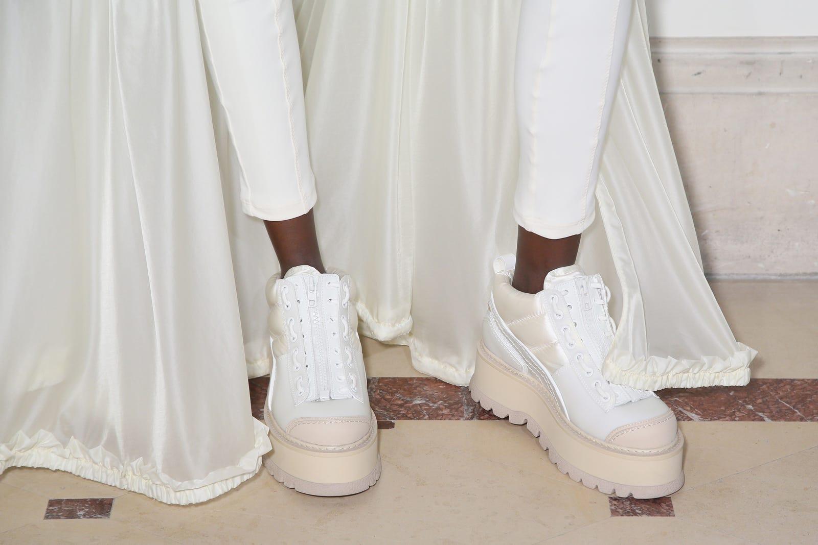 wholesale dealer b7e0f 73e7c Rihanna Fenty Spring 2017 Puma Shoes Paris Fashion Week
