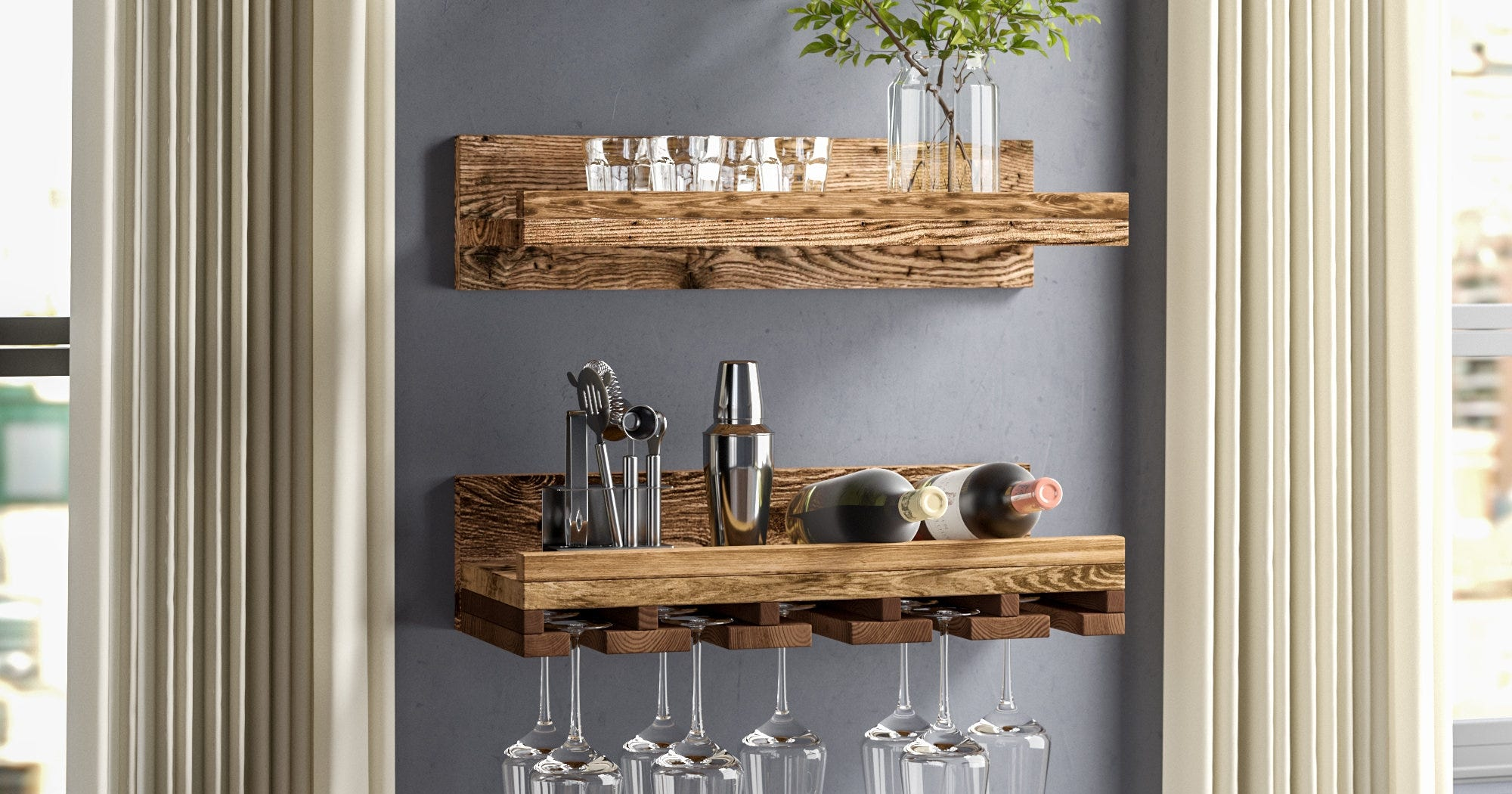 Move Over Bar Carts, Pinterest Stats Point To This Wine Storage Trend