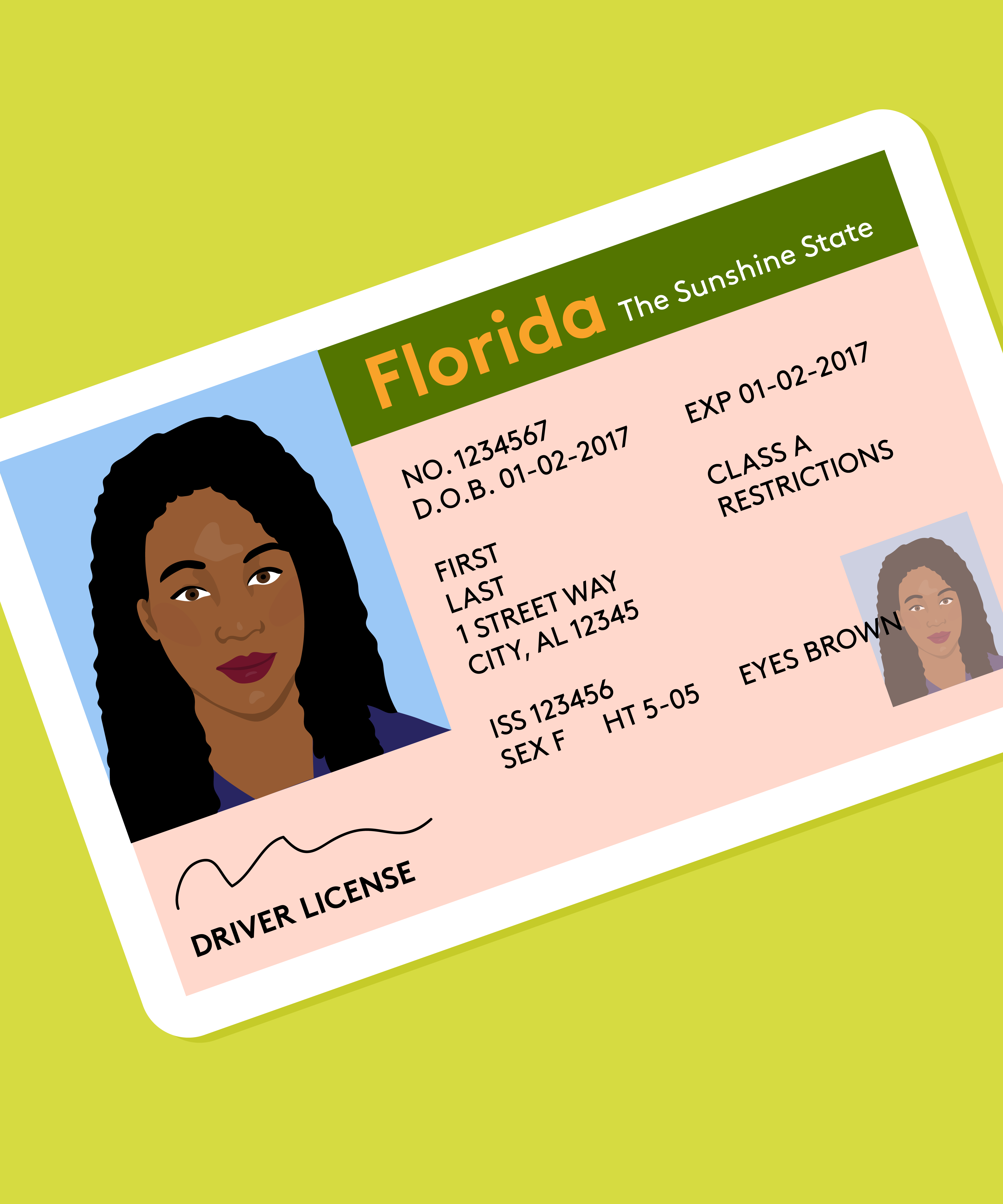 what do i do if i lost my drivers license in florida