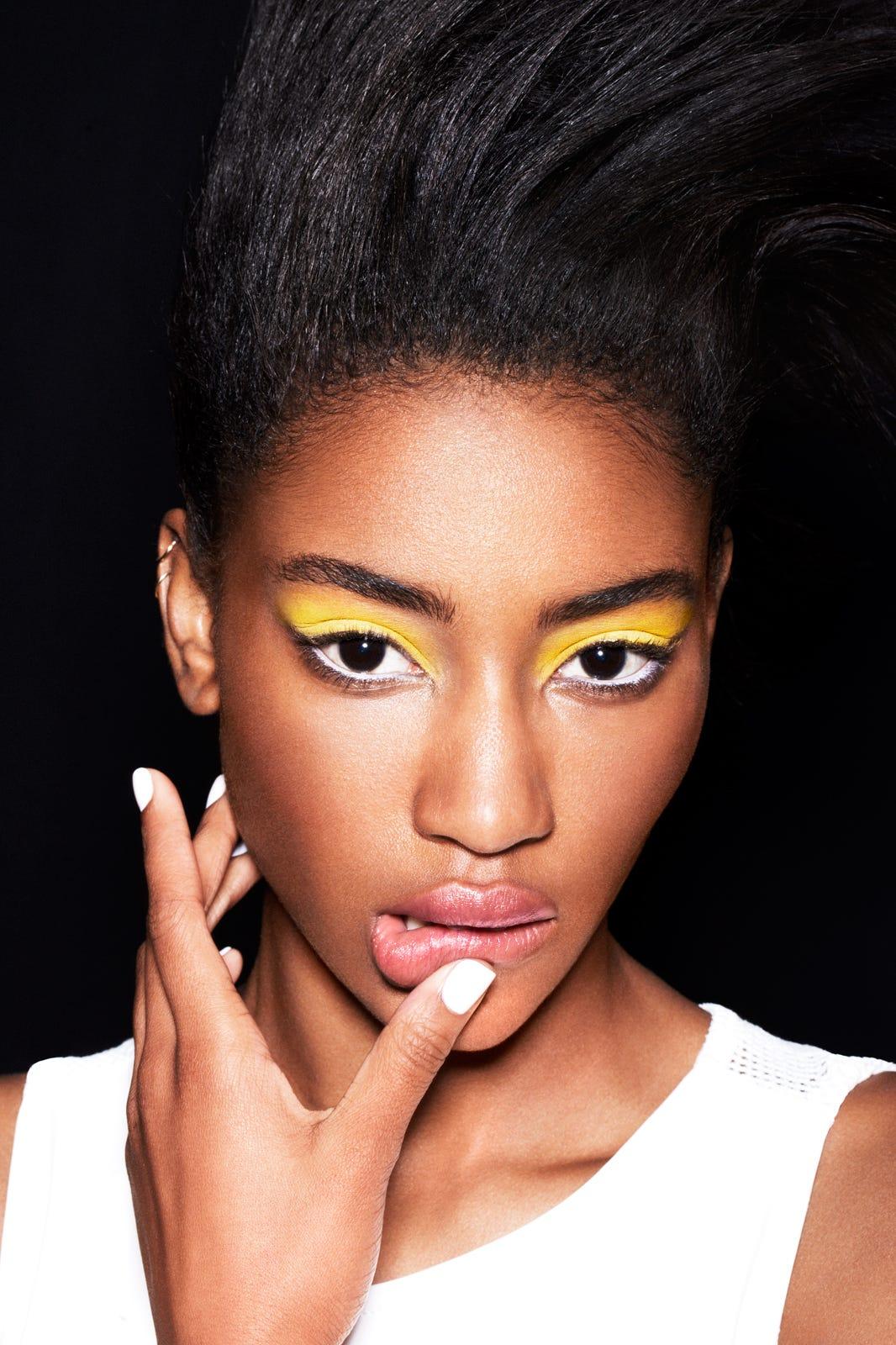 Neon Makeup Pastel Cosmetics Eyeliner Lipstick