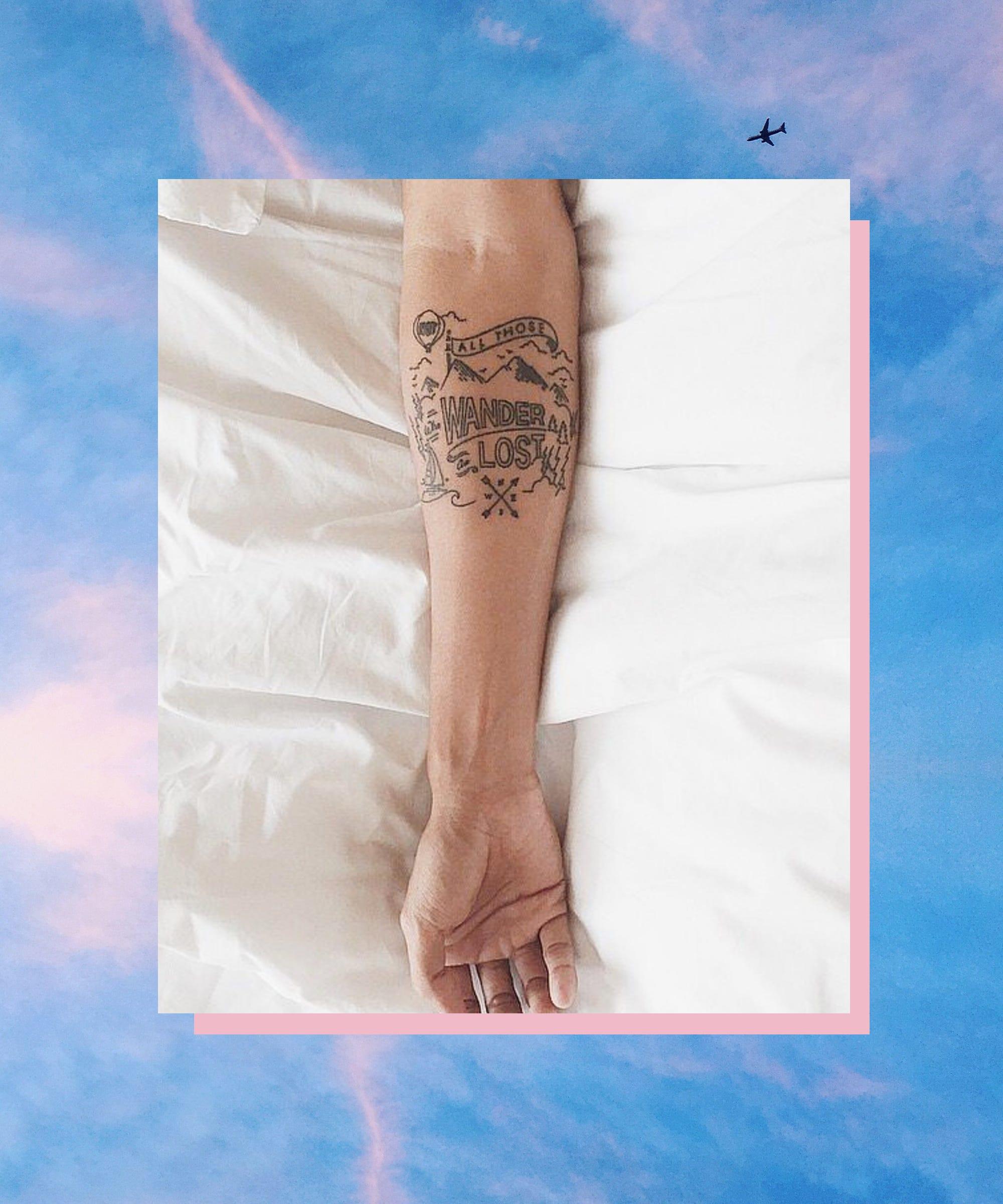 13 Einzigartige Tattoos Die Vom Reisen Inspiriert Sind