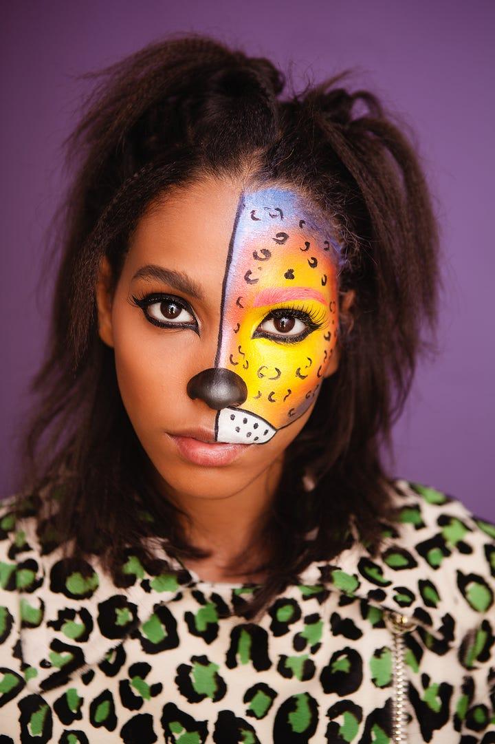 DIY Halloween Makeup - Snapchat Dog Filter, Lisa Frank