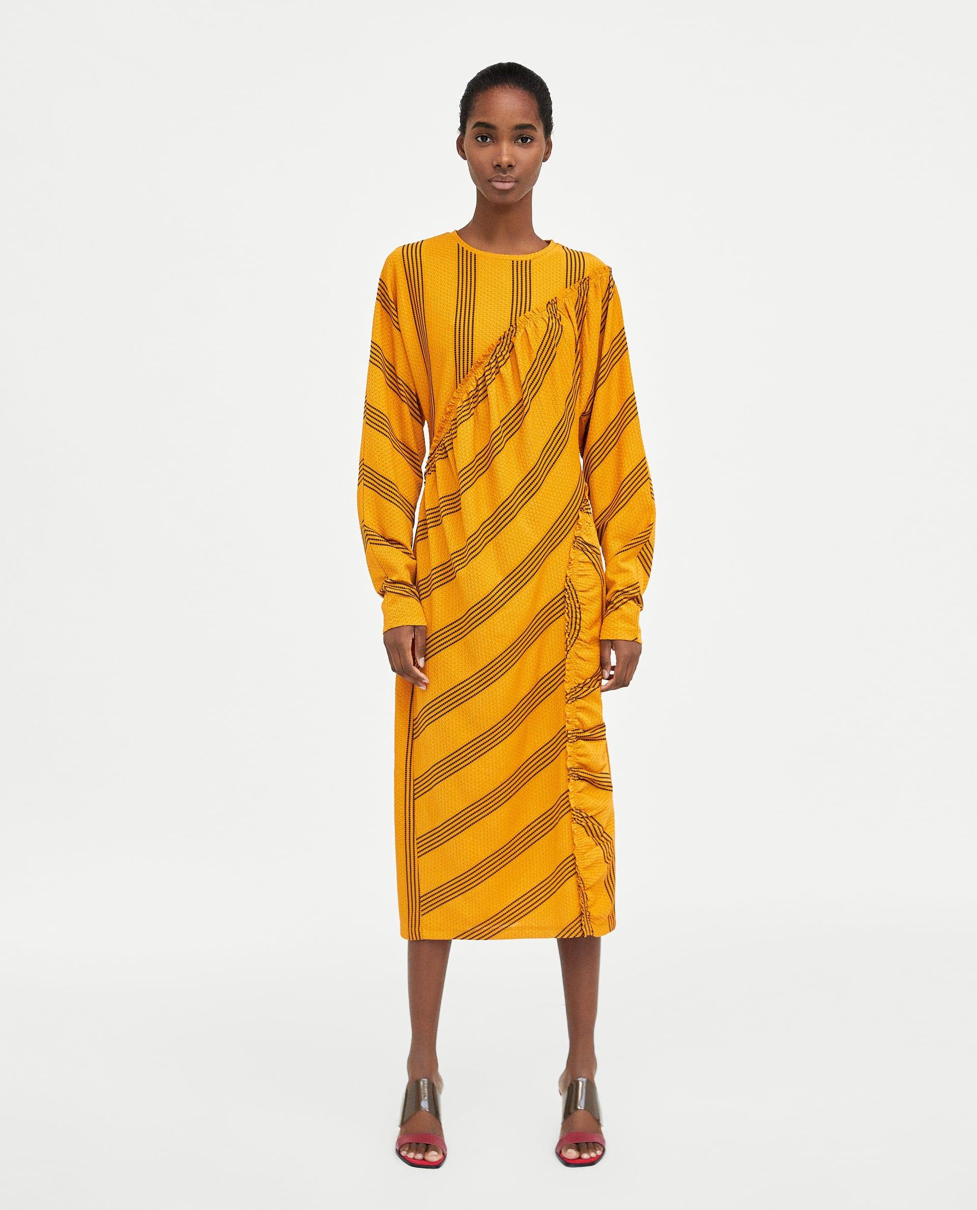 2525774a3e4f Zara Midi Dress Trend Dresses For Women