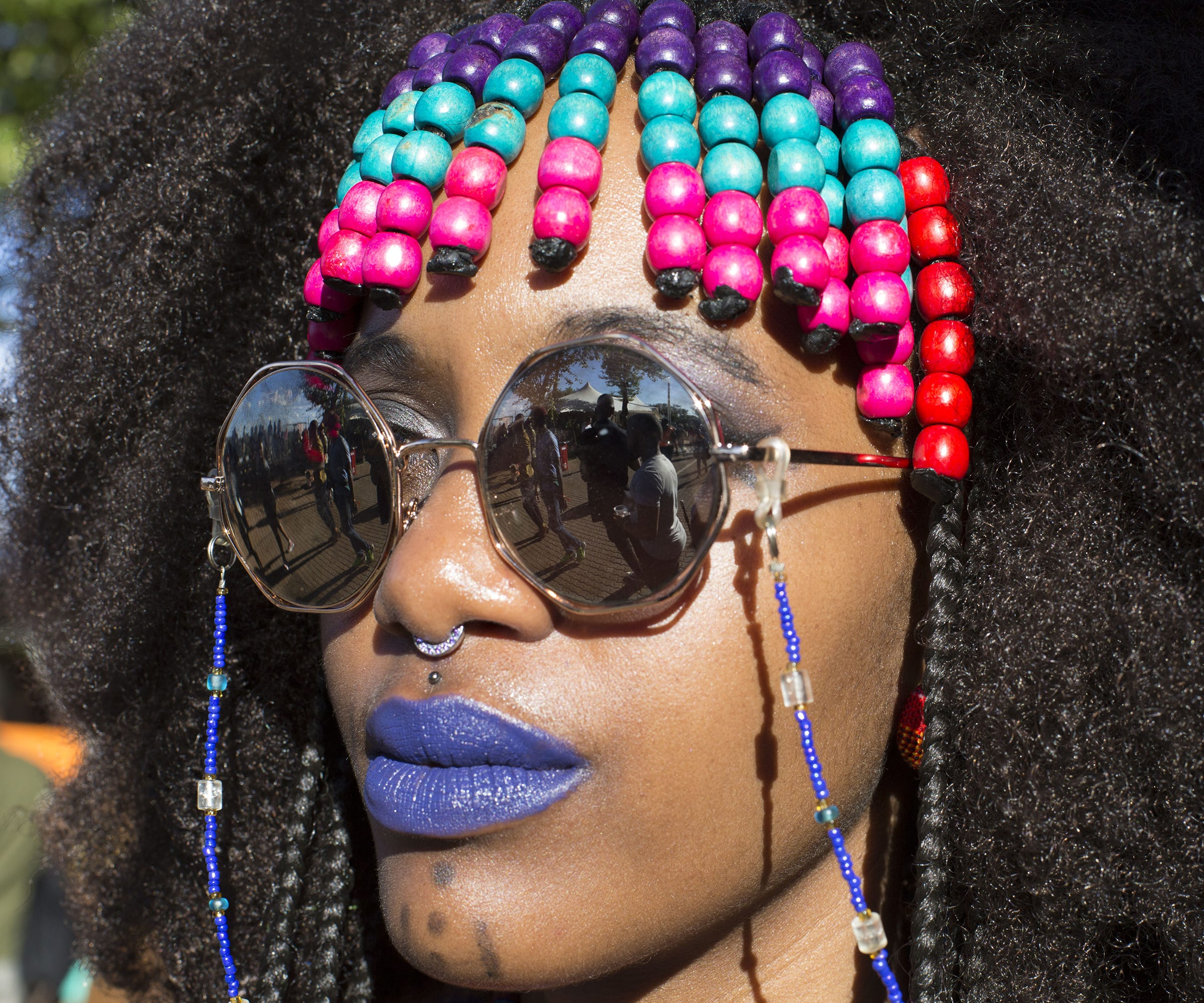 Braided Bangs Make Protective Styles Look Even Cooler