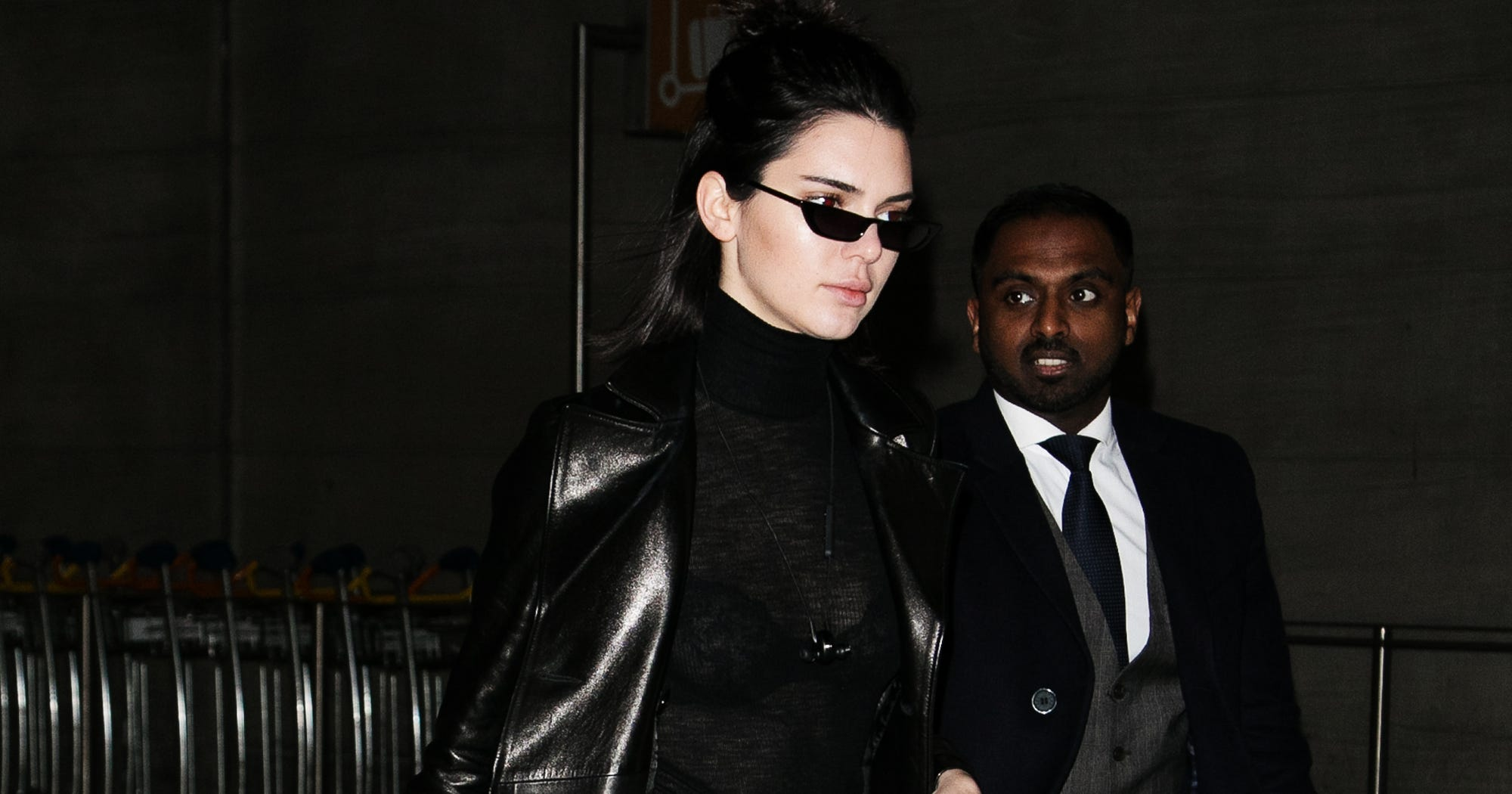 c32f1880815 Kendall Jenner Matrix Style Outfit Sunglasses Picks