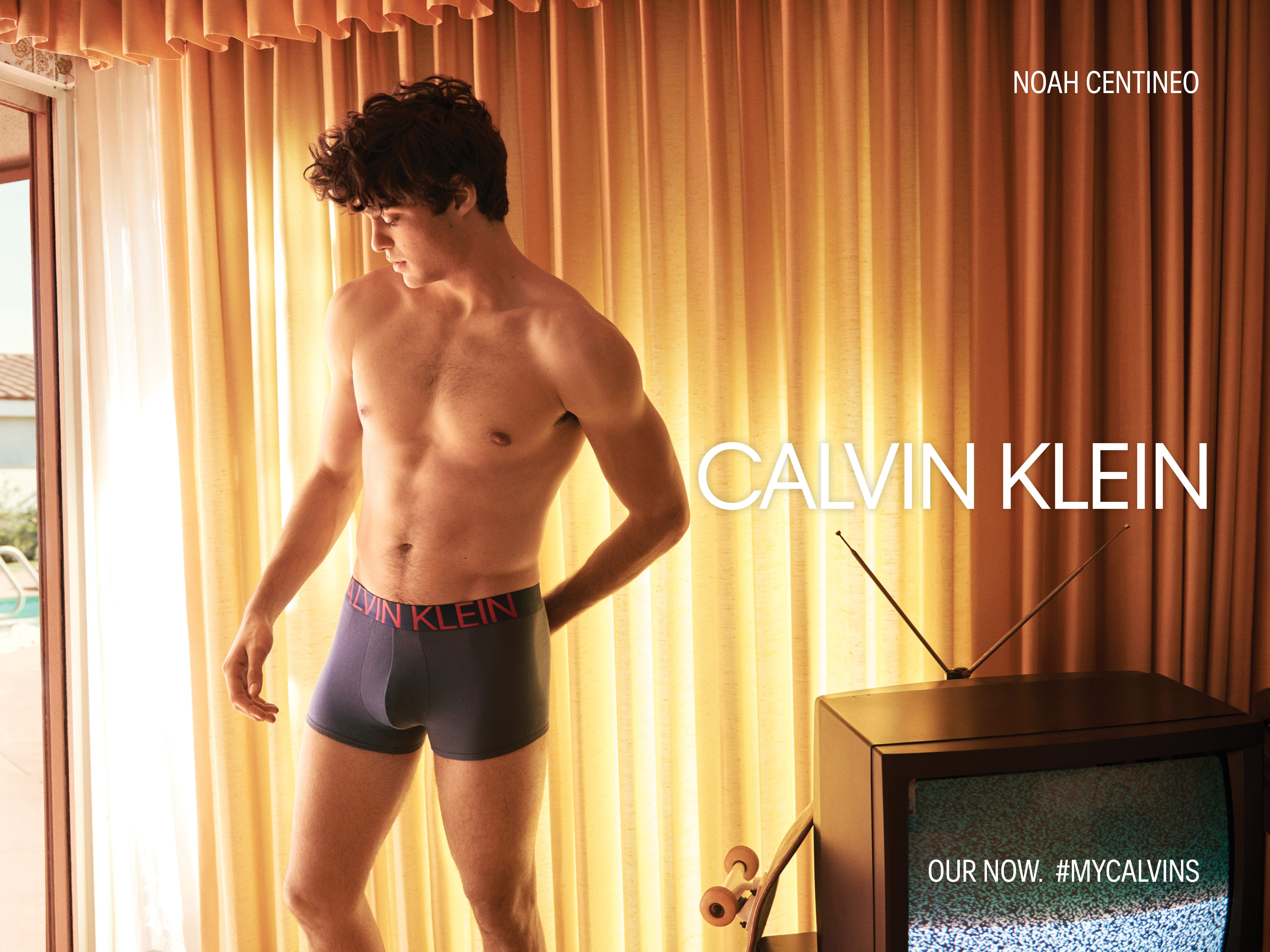 3d262e678a Noah Centineo Calvin Klein Underwear Ads Are So Sensual