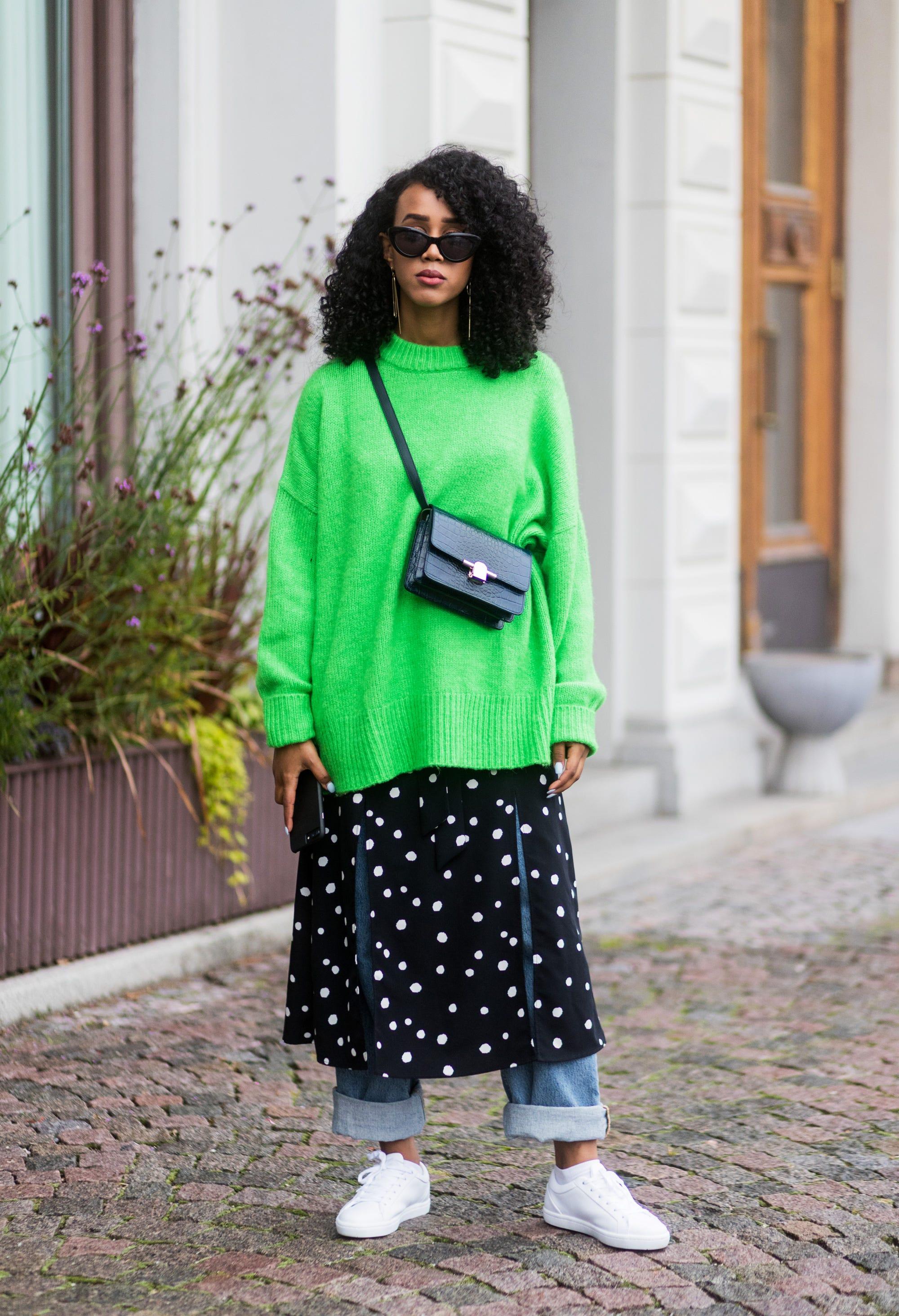 Cute Ways To Wear The Polka Dot Trend Winter 2018