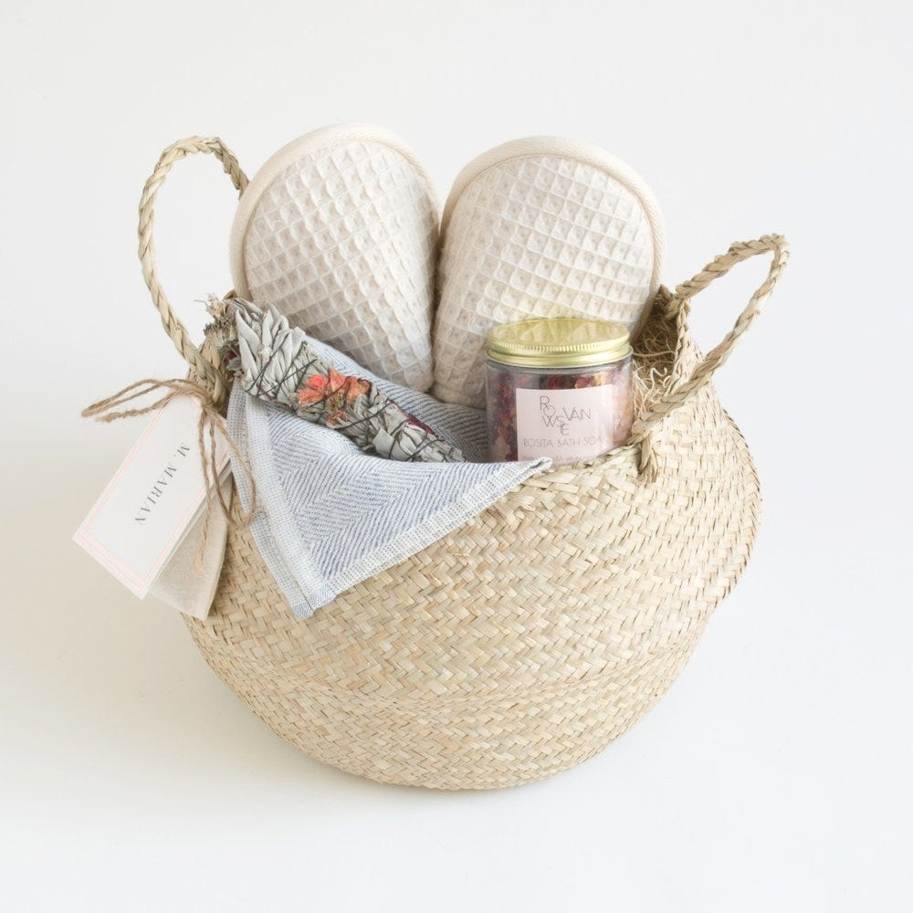 Bath & Body Bath And Body Works Crochet Basket Very Unique Gift Customers First