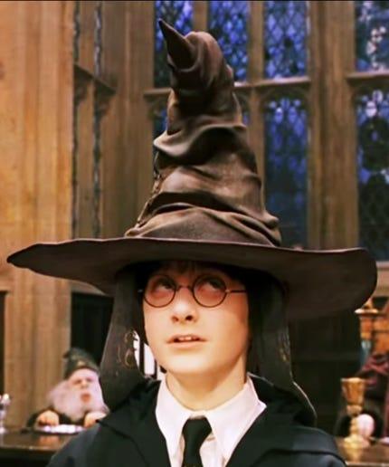 Image result for harry potter sorting hat