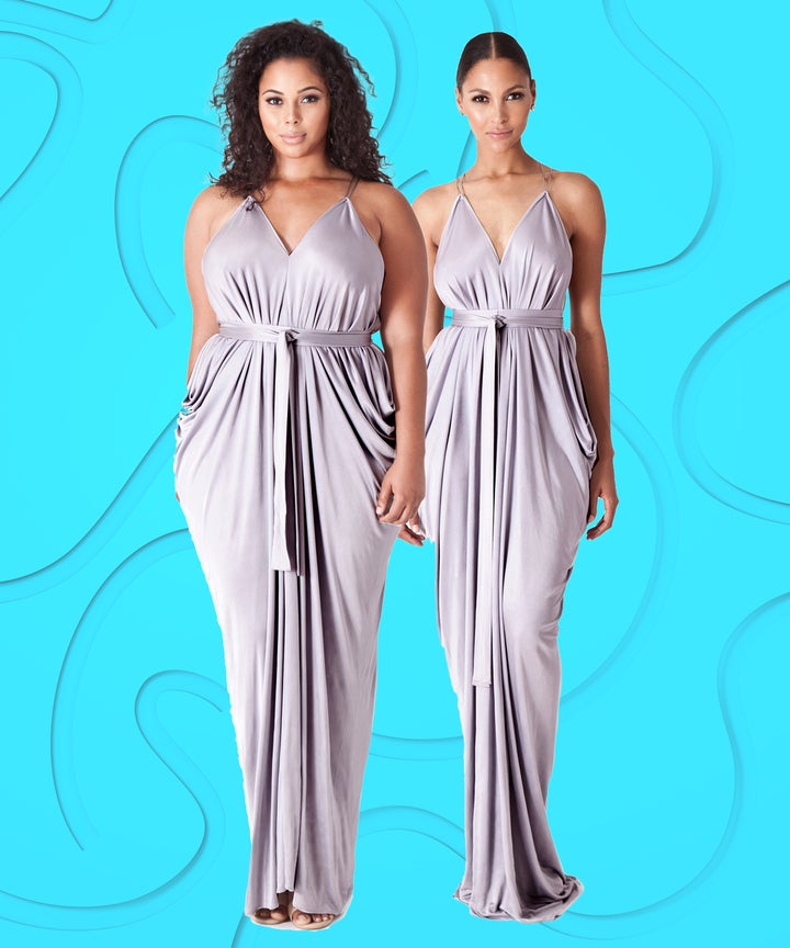 The One Size Fits All 300 Bridesmaid Dress You Can Wear 10 Ways