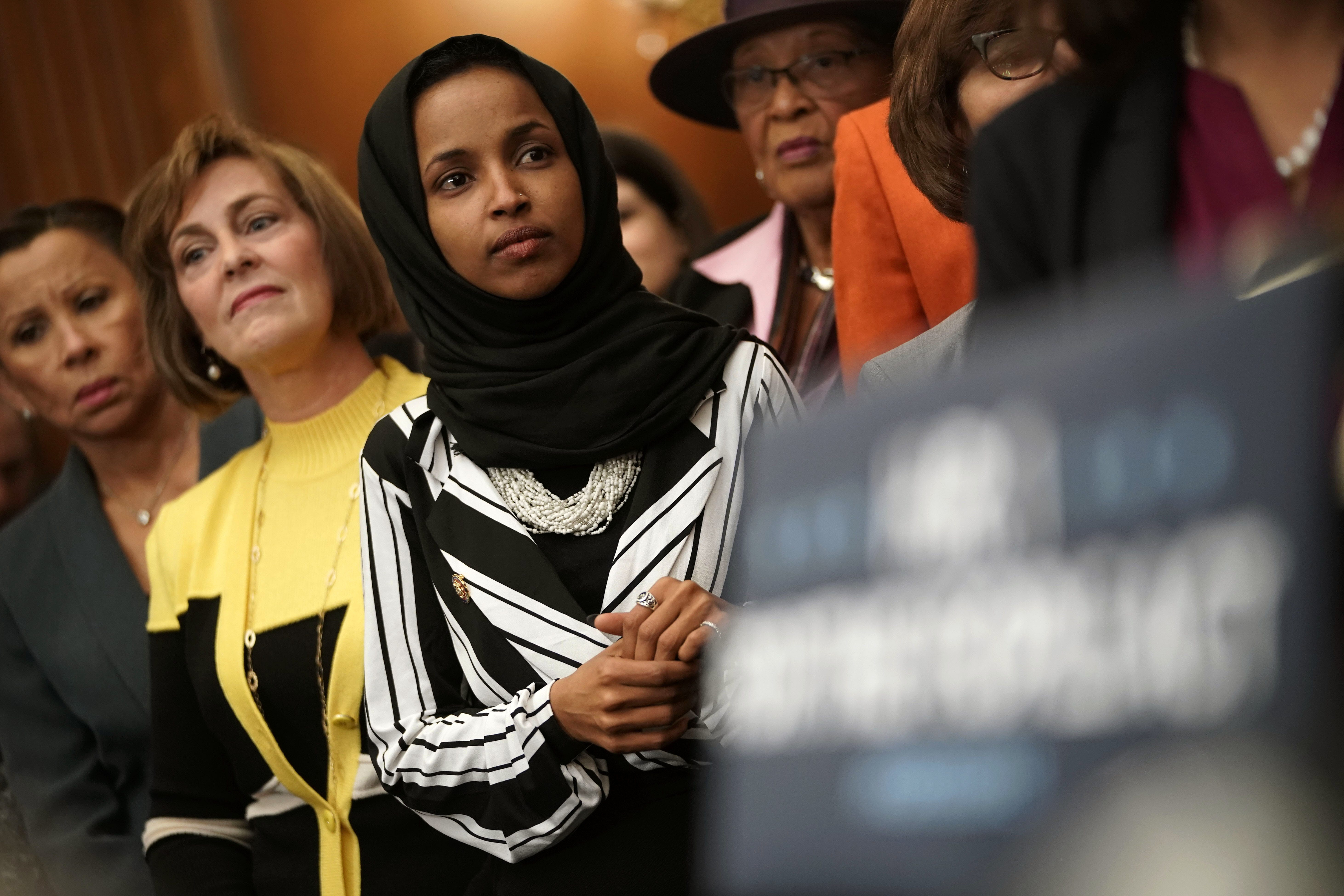 Congresswoman Ilhan Omar's Nails Make More Than Just A Beauty Statement