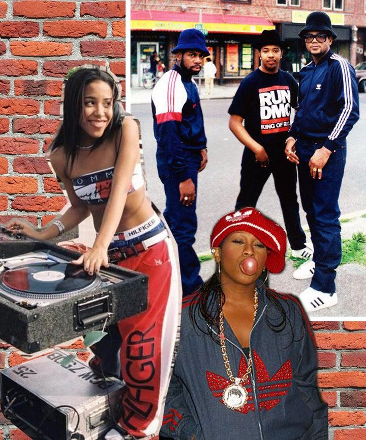 Hip Hop 90s Fashion Mia Tlc Aaliyah Photos