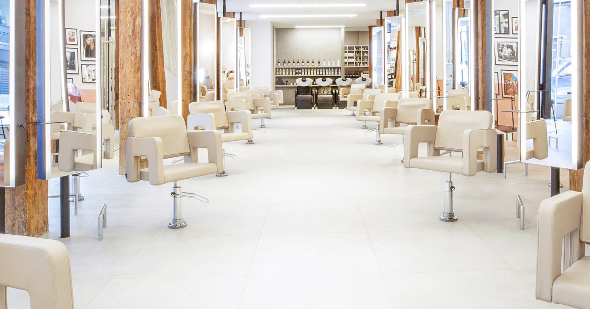 hairdressing salon design ideas interior decoration in interior stylists new york Refinery29