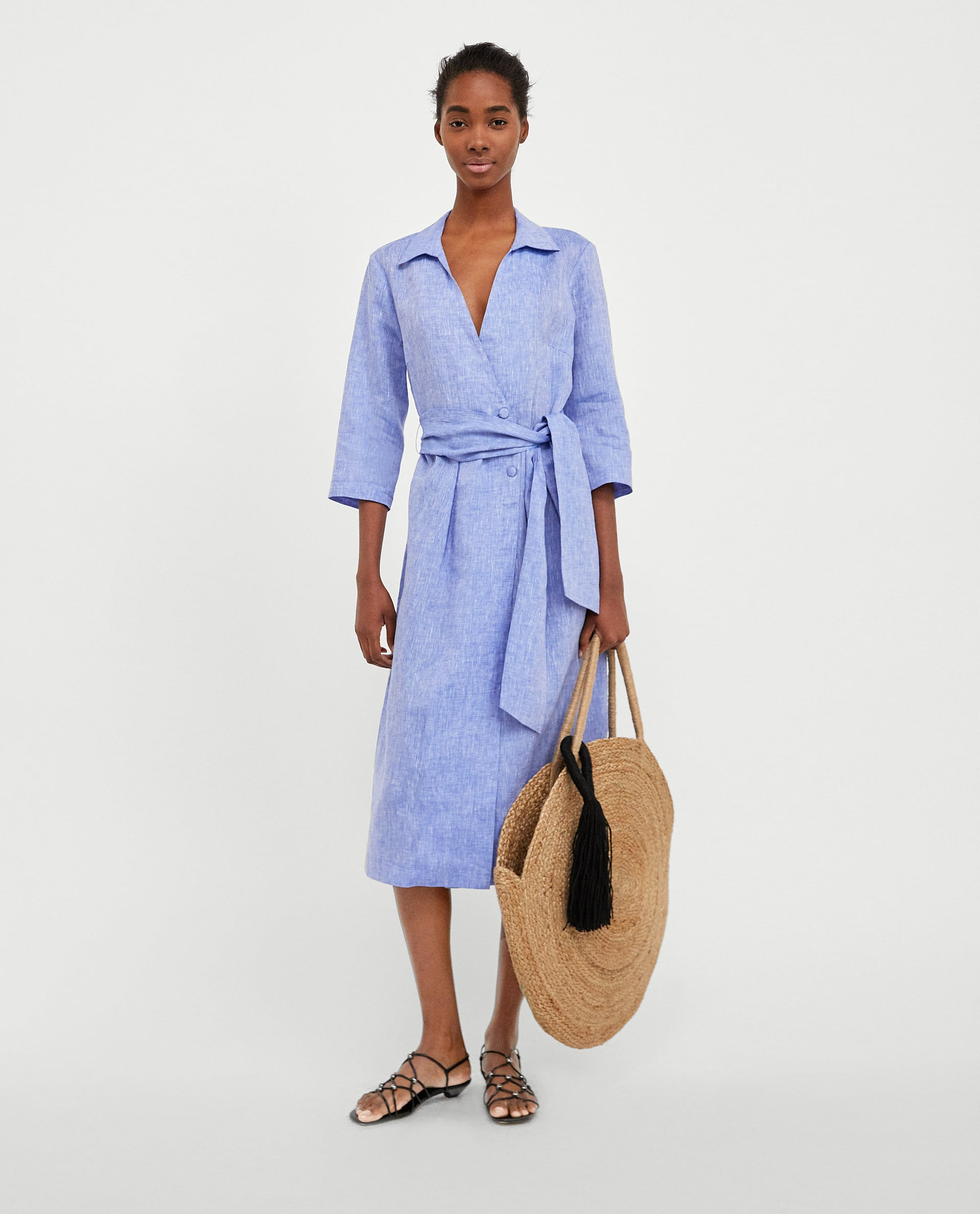 847e4341ee Denim Maxi Skirt Zara | Saddha
