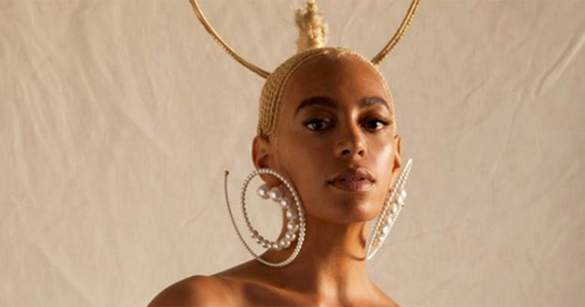 Solange Rocks Gravity-Defying Braids for Evening Standard'Cover recommend